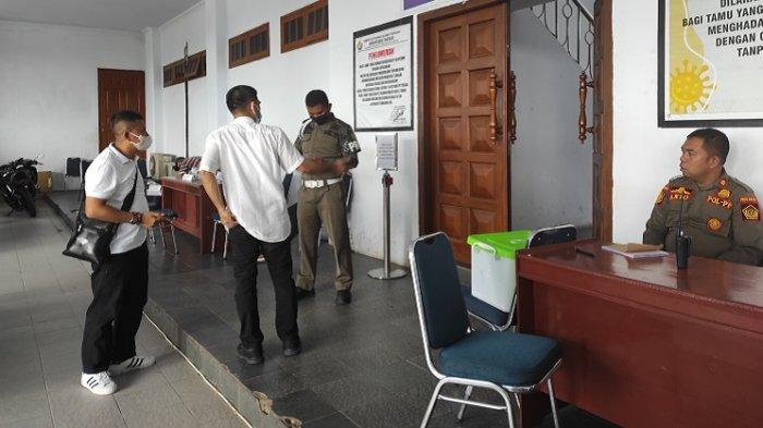 Suasana Rujab Gubernur Sultra saat Gempa 3,6 Skala Richter di Kendari, Petugas Panik Keluar Ruangan