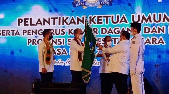 Anton Timbang Janji Bawa Kadin Sultra Jadi Mitra Pemerintah, Bangkitkan UMKM dan Pulihkan Ekonomi