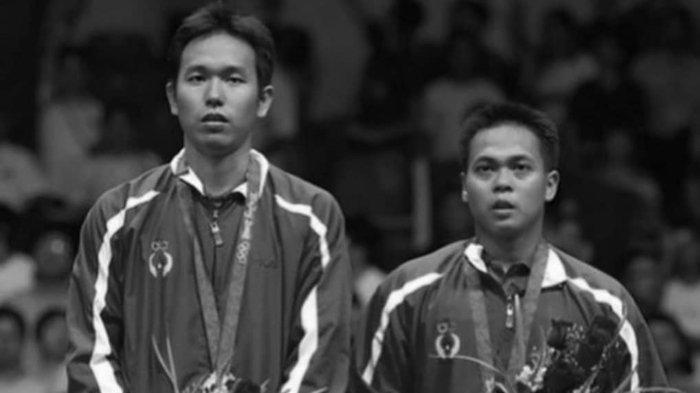 Pemain bulu tangkis Indonesia, Hendra Setiawan dan Markis Kido