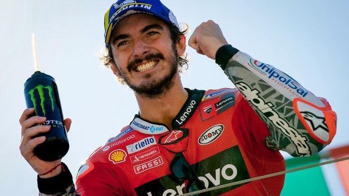 MotoGP San Marino Hari Ini, Siaran Langsung Trans7, Francesco Bagnaia Terdepan, Marc Marquez Ketujuh