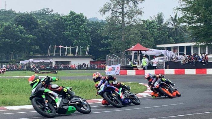 Pembalap ASR Racing Team Kendari M Faerozi Juara Pertama Kelas Oneprix 1 Kejurnas OnePrix di Sentul