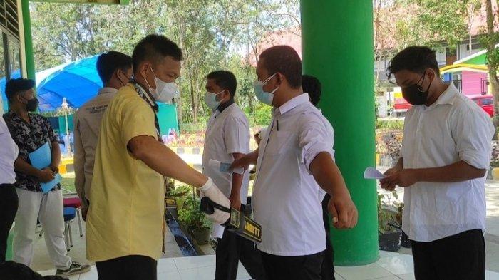 Ribuan Peserta Ikut Tes SKD CPNS 2021 Kemendikbud Ristek di Kampus UHO Kendari, 56 Kuota