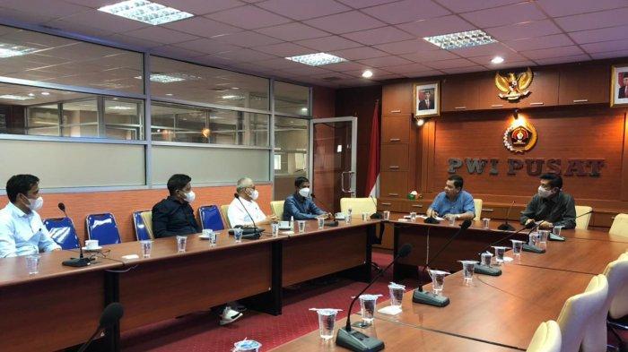 Sultra Tuan Rumah HPN 2022, Pemprov dan PWI Pusat Gelar Rapat Tindak Lanjut