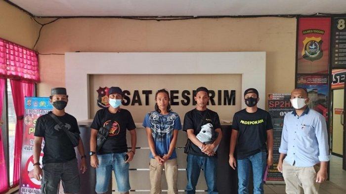 Dua Pemuda Asal Gowa Sulsel Ditangkap Karena Curi Kabel Penangkal Petir Tower Telkomsel di Kolaka