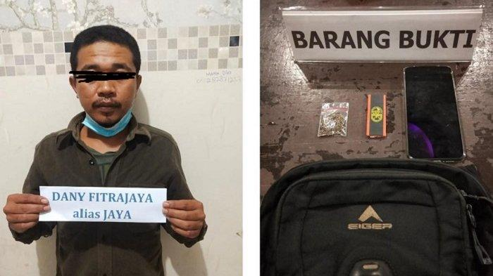 Gelagat Mencurigakan di Pinggir Jalan, Pria di Kendari Ini Diciduk Polisi, Ternyata Kantongi Ganja