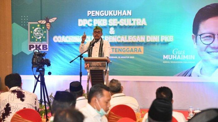 DPC PKB se-Sultra Dikukuhkan, Jaelani: Target Kursi DPR RI, Dorong Muhaimin Maju Capres