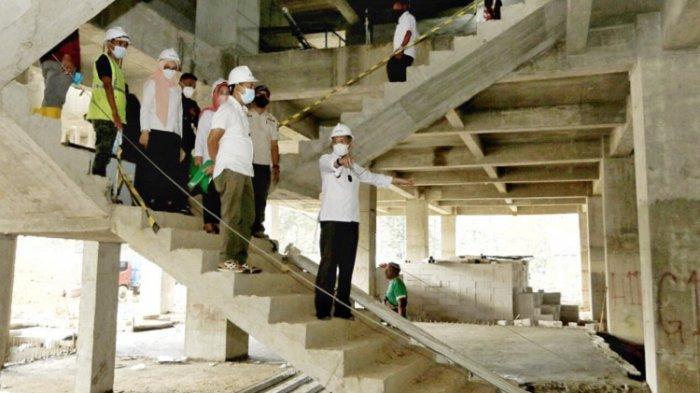 Peninjauan Kantor Wali Kota Kendari, Rabu (1/9/2021)