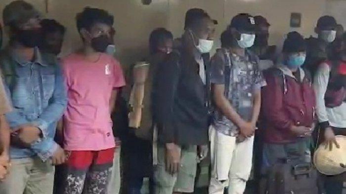 Terciduk Palsukan Sertifikat Vaksin, 26 Penumpang KM Sinabung Asal Baubau Dipulangkan dari Sorong