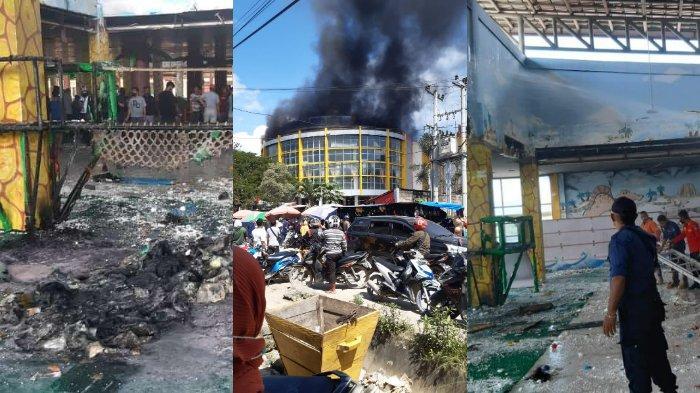 Penyebab Kebakaran Pasar Sentral Kota Lama Kendari, Kronologis Terbakar di Lantai 3