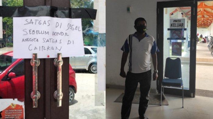 GegaraPetugas Posko Satgas Covid-19 Sultra Mogok Kerja, Warga Kendari Tak Bisa Urus Izin Keramaian