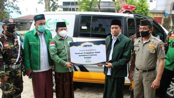 LAZISNU Konawe Dapat Bantuan 1 Unit Ambulance dari Program Kemaslahatan BPKH - NU Care LAZISNU