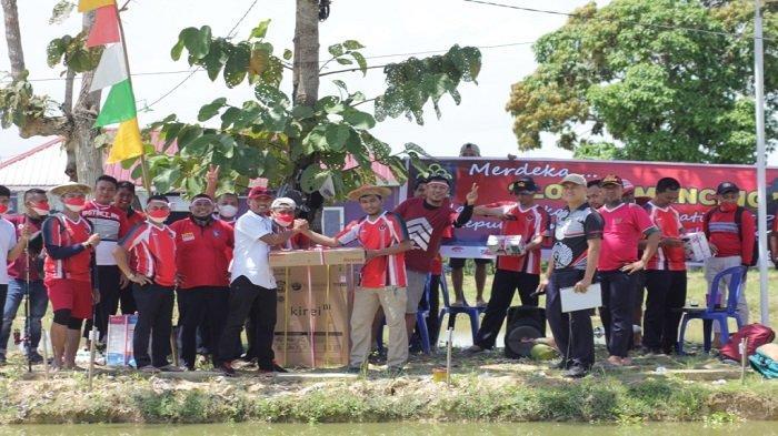 Rutan Kelas II B Unaaha Konawe Gelar Lomba Memancing Ikan di Kolam Peliharaan Narapidana