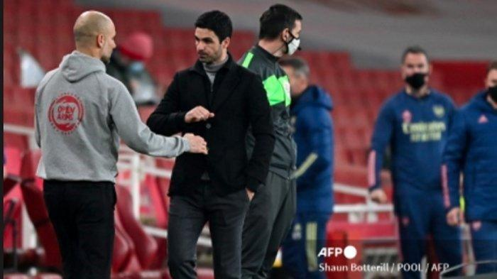 Arsenal Tumbang Tiga Kali, Pep Guardiola Beri Dukungan Kepada Mikel Arteta