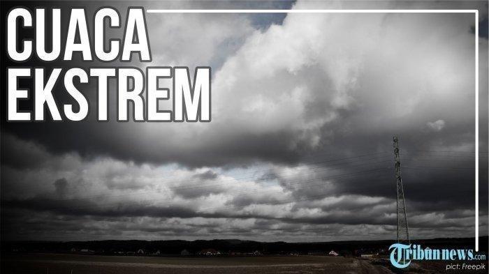 Peringatan Dini Cuaca Ekstrem di Indonesia pada Minggu, 18 Juli 2021
