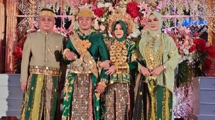 Meriahnya Pernikahan Anak Bupati Konawe Kery Saiful Konggoasa, Dihadiri Artis Ibukota Rossa