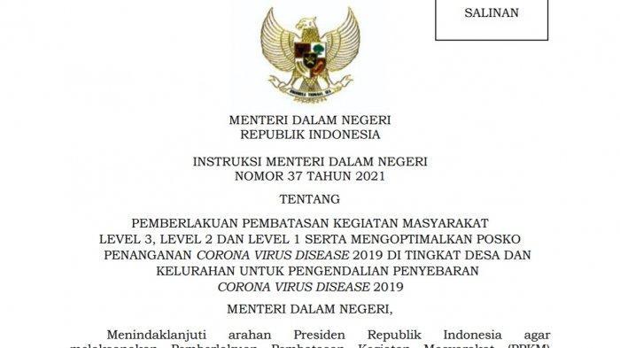 Berikut daftar kabupaten/ kota yang memperpanjang PPKM Level 3 dan Level 2 di Provinsi Sulawesi Tenggara (Sultra). Pemberlakuan Pembatasan Kegiatan Masyarakat (PPKM) di 17 kabupaten/ kota se-Sultra tersebut diperpanjang mulai Selasa (24/08/2021) sampai tanggal 6 September 2021.