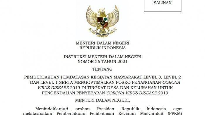 PPKM Sulawesi Tenggara, Daftar Kabupaten/ Kota Level 2 dan 3, Tak Ada Level 4 di Sultra, Artinya