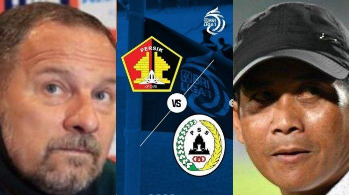 Persik Kediri vs PSS Sleman, Dejan Tertekan, PSS Pincang, Nonton Live Streaming Liga 1 BRI 2021!