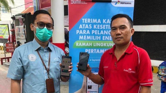 Pertamina Regional Sulawesi Beri Merchandise dan Tambahan Saldo LinkAja di Hari Pelanggan Nasional