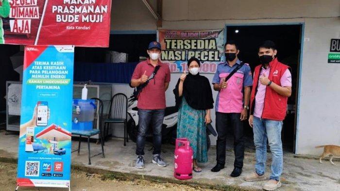 Pertamina Regional Sulawesi Mengapresiasi Pelaku Usaha Pengguna Bright Gas di Kota Kendari