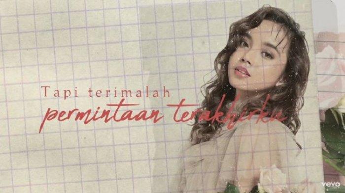 Lirik Lagu Pesan Terakhir - Lyodra Ginting, Cium Keningku Tuk yang Terakhir, Single Album Lyodra