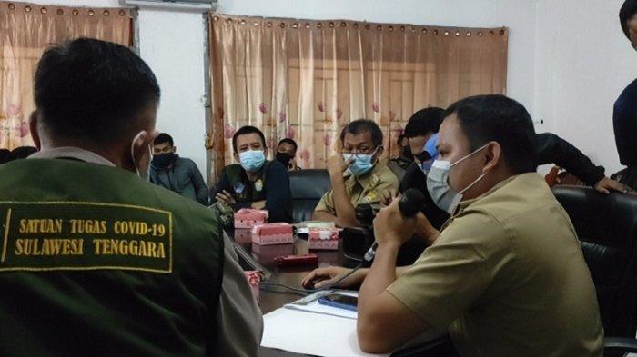 Petugas Beberkan Masalah di Posko Satgas Covid-19 Sultra, Wi-Fi Diputus, Air Minum Juga Susah