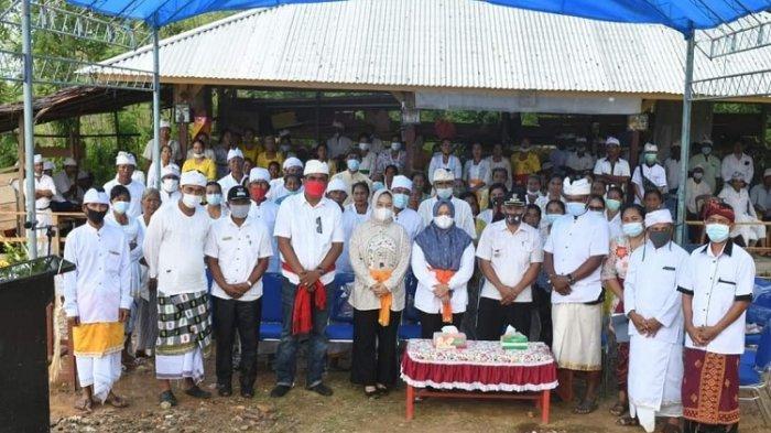 Resmikan Pura, Plt Bupati Kolaka Timur Berjanji Tidak Akan Membedakan Suku dan Agama Masyarakat