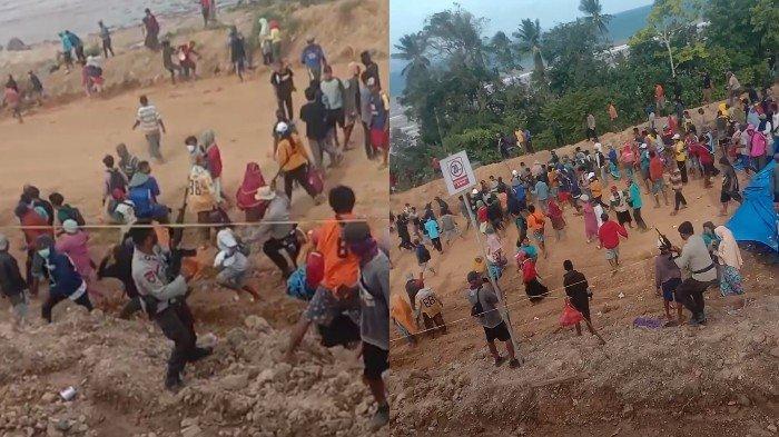BREAKING NEWS: Mahasiswa dan Nelayan Ditangkap Polisi saat Demo Tambang di Laonti Konawe Selatan