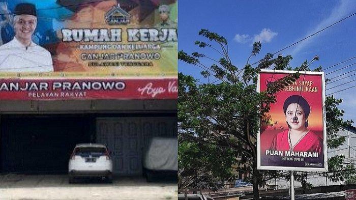 Baliho Puan Maharani Mejeng hingga Posko Ganjar di Kendari, PDIP Sultra Sebut Bukan Urusan Partai