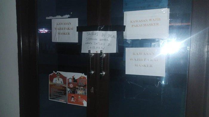 Posko Satgas Covid-19 Sulawesi Tenggara Masih Disegel, Honor Pegawai Belum Dibayar, BPBD Bungkam