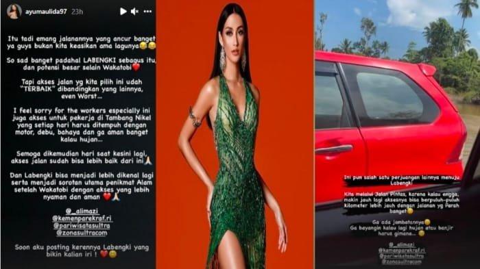 Puteri Indonesia 2020 Roro Ayu Maulida Putri Sanjung Pulau Labengki Tapi Soroti Akses Jalan Rusak