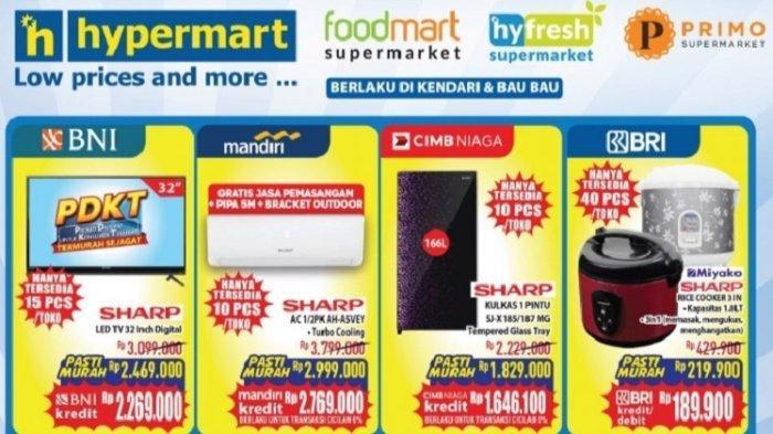 Dapatkan Potongan Harga Barang Elektronik di Hypermart Kendari, Diskon hingga Ratusan Ribu Rupiah