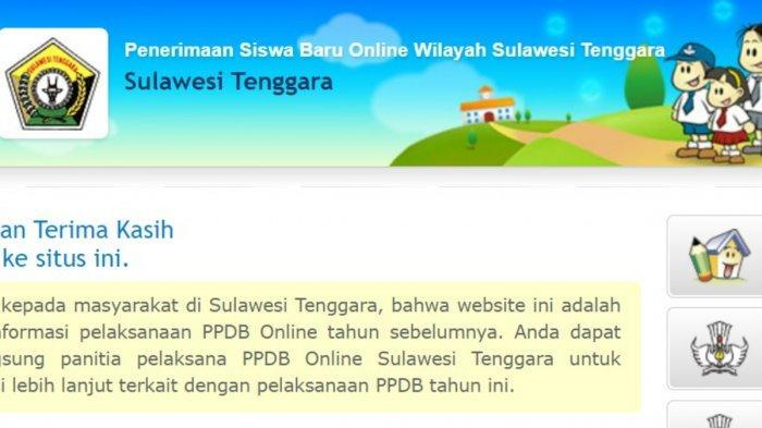 LENGKAP PPDB Sultra 2021, Pendaftaran PPDB Online Sulawesi Tenggara di sultra.siap-ppdb.com, Jadwal