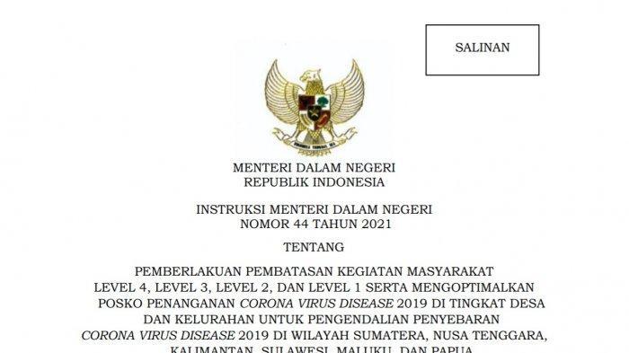 Pemberlakuan Pembatasan Kegiatan Masyarakat atau PPKM Sulawesi Tenggara (Sultra) kembali diperpanjang mulai Selasa (21/9/2021) hingga 4 Oktober 2021.