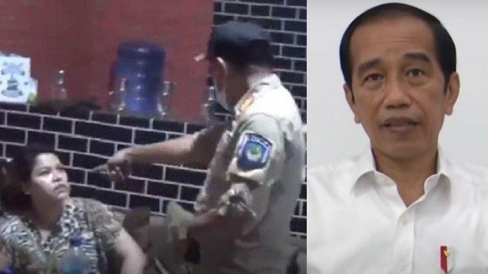 Presiden Jokowi Geram Ulah Satpol PP Gowa Pukul Wanita, Instruksikan Polri & Mendagri, Jangan Kasar!