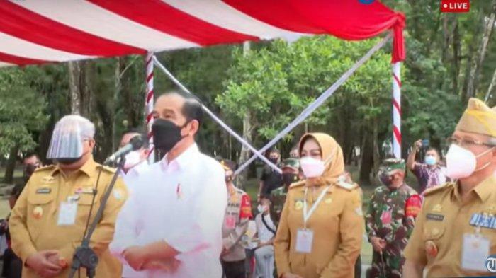 Presiden Jokowi Doakan Wali Kota Kendari Sulkarnain Kadir Sembuh dari Covid-19