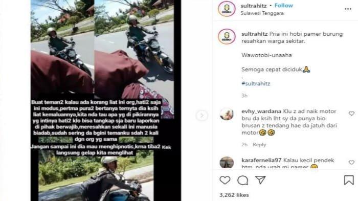 Cewek Asal Wawotobi Konawe Curhat di Sosmed Dipepet Pria Bermotor Sambil Pamer Kelamin Sudah 3 Kali