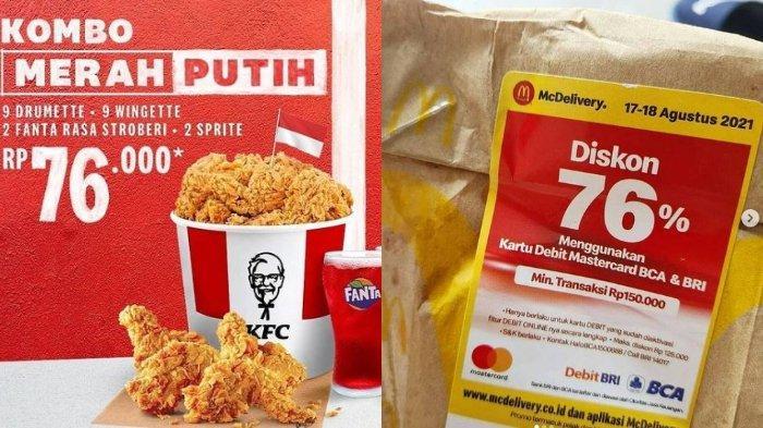 Daftar Promo HUT RI 17 Agustus: Starbucks, Pizza Hut, JCO, McD, hingga KFC