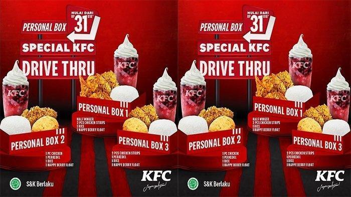 Berlaku Selama Maret 2021, Buruan Nikmati Promo KFC Mulai Rp31 Ribu