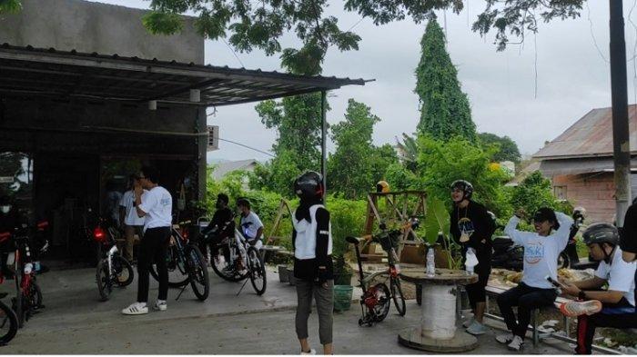 PSBB Club Kendari Gelar Eksplor Lorong Sabtu Pagi, 25 Peserta dari Komunitas Sepeda Ikut Bergabung