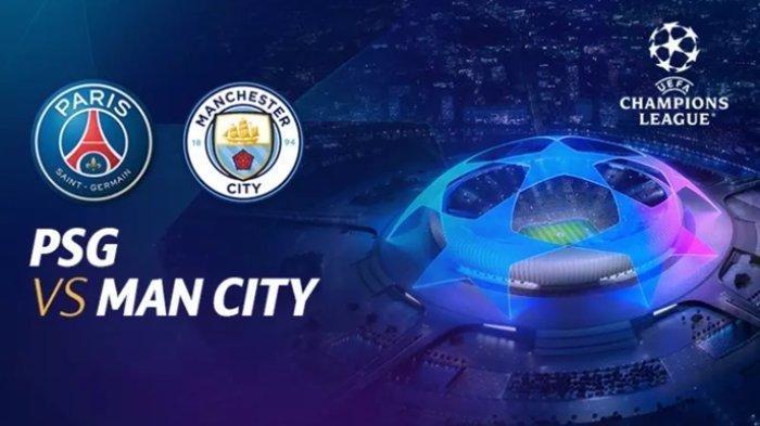 Liga Champions PSG Vs Manchester City, Dini Hari 02.00 WIB Reuni Lionel Messi dan Pep Guardiola