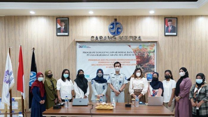 Perhatian Jasa Raharja Sulawesi Tenggara ke Ahli Waris, Beri Pendidikan dan Pelatihan Kewirausahaan
