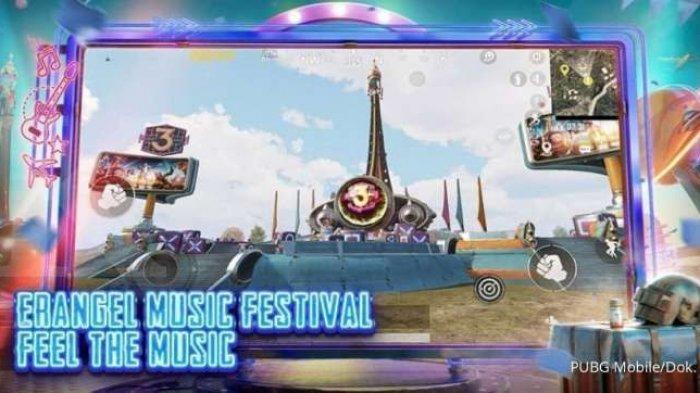 Hadirkan Konten Terbaru dengan Konser Musik, Segera Update Game PUBG Mobile