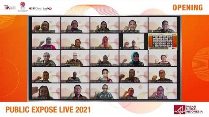 Bursa Efek Indonesia Gelar Public Expose Live 2021, Berikan Pengetahuan ke Investor Saham