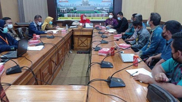 Rapat Evaluasi Manajemen Aset Pemerintah Kota Kendari, Nahwa Umar Akui Ada Sejumlah Persoalan