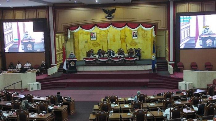 Rapat Paripurna Bersama DPRD Sultra, Gubernur Ali Mazi ungkap Alasan Perubahan APBD Sultra 2021