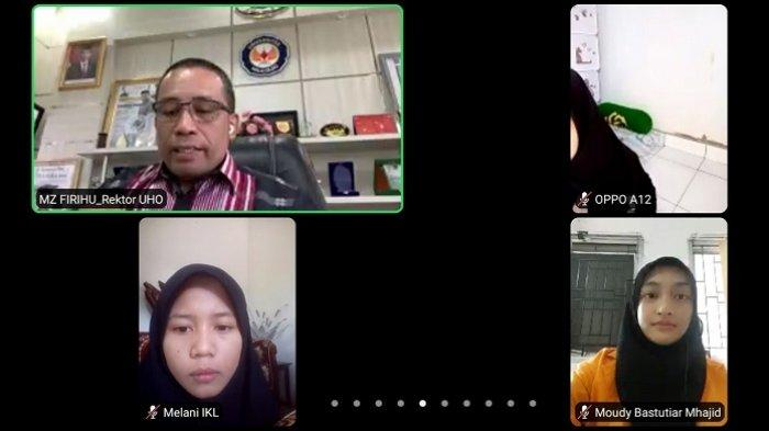 UHO Kendari Jelaskan Besaran UKT, Rektor Prof Zamrun: Dipengaruhi Data Mahasiswa dan BPS