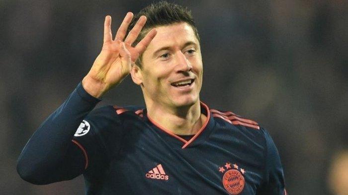 Buat Gol vs Lazio, Lewandowski MasukTiga Besar Top Skor Liga Champions, Salip Legenda Real Madirid