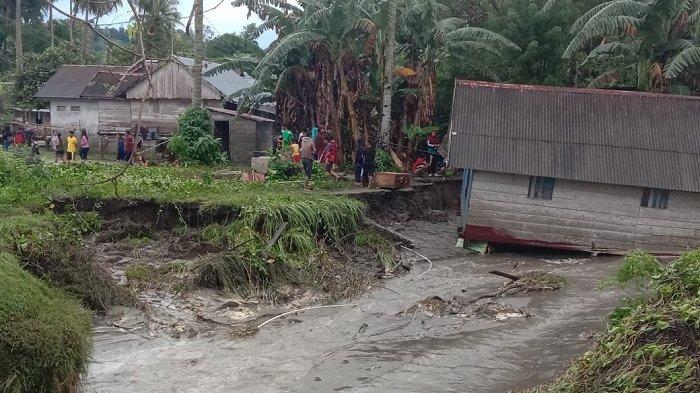 Dalam Sehari, 2 Desa di Buton Utara Terendam Banjir Setinggi 1 Meter, Rumah Terbawa Arus