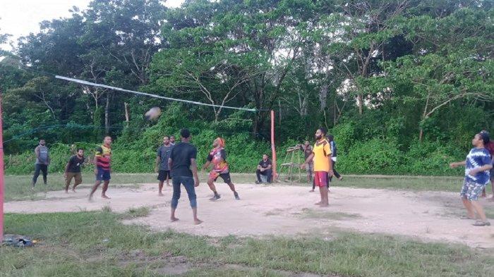Mahasiswa Papua di Kendari Gelar Lomba Bola Voli dan Futsal, Guna Mempererat Silaturahmi